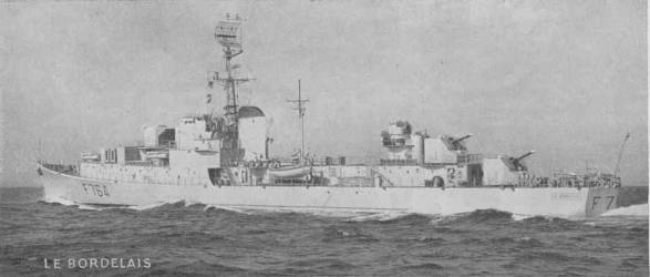 French corvette Le Bordelais