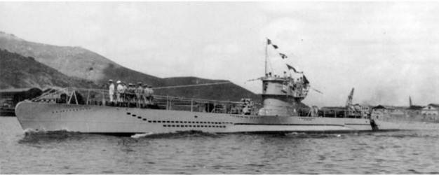 Spanish submarine G-7